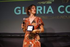 Gloria Conti riceve Premio Spazio d'autore