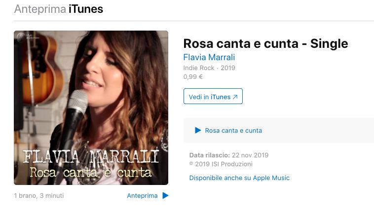 Flavia Marrali - Canta e Cunta